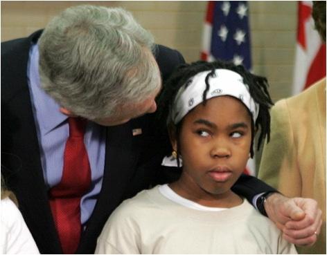 black-girl-and-bush